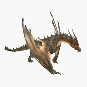 dragon nidhogg 3D model