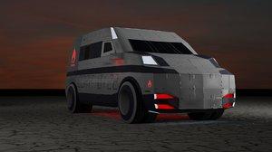3D car 4096
