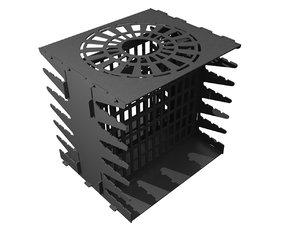 brazier vertical 3D model