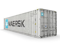 40 ft MAERSK standard shipping container