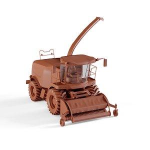 farming tractor 3D model