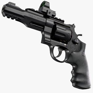 smith wesson r8 3D
