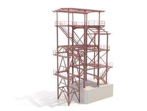 metal platform ladders model