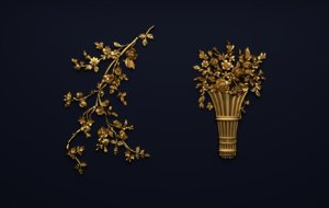 ornament classic decor 3D