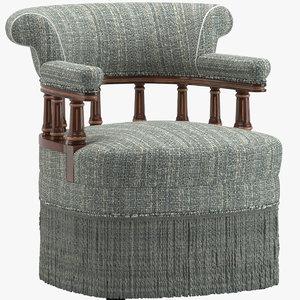 3D model chair 201