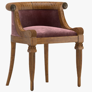 3D chair 202 model