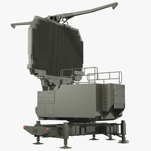 long range surveillance radar 3D