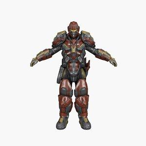 quake warrior games model