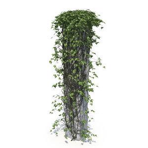 3D ivy column v1