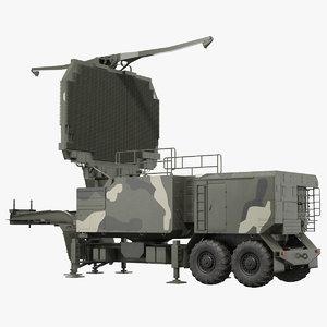 3D long range radar tombstone