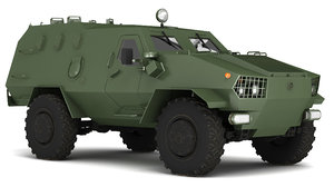 light armored vehicle model