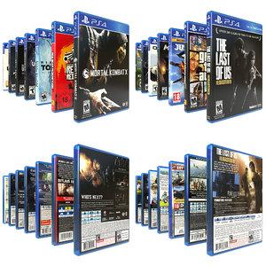 ps4 games 14 3D model