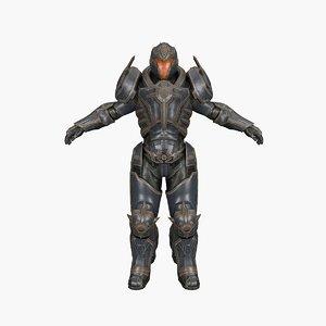 quake ninja 3D model