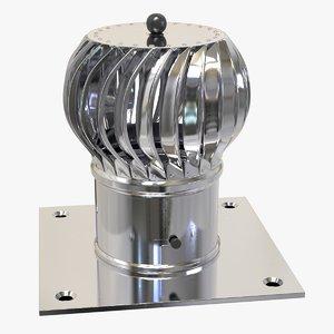 rotary chimney 3D
