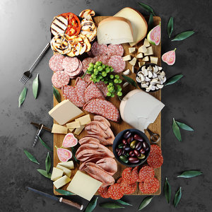 3D food tray