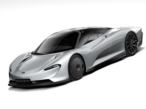 mclaren speedtail 2021 3D model