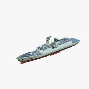 type054ap frigate model