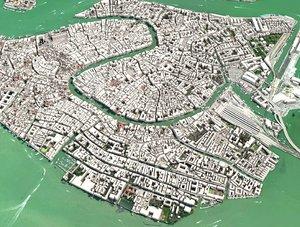 venice city italy 3D model