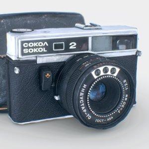 scan - photogrammetry vintage camera 3D model