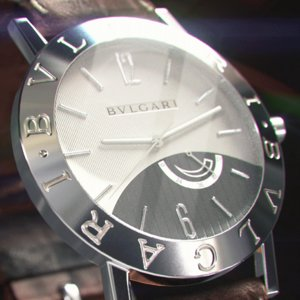 3D wrist watch - bvlgari model