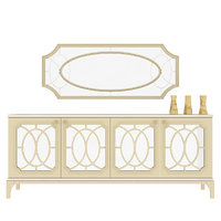 Sideboard Table Design With Mirror
