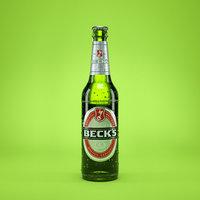 Beer Bottle Becks