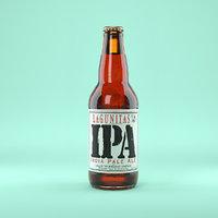 Beer Bottle Lagunitas IPA