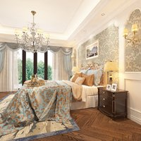 European Bedroom Design and Baseboard  Profile Collection