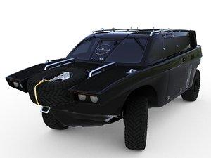 drozd amphibious 3D