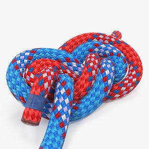 figure 8 bend knot model
