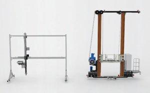 gantry stacker assembly 3D model