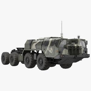 3D model maz 7910 8x8 truck