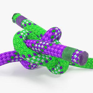 carrick bend knot 3D model