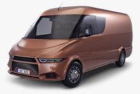 Generic Commercial Cargo Van v 1