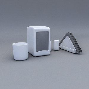 3D restaurant desktop