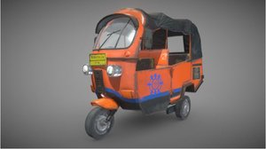 bajaj jakarta indonesia 3D