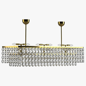 3D chandelier 17 model
