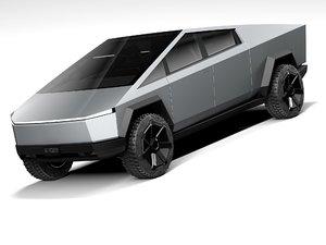 3D tesla cybertruck 2022