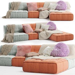 3D reema sofa