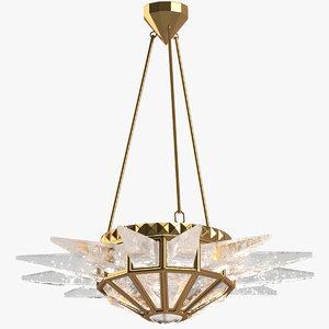 3D chandelier 24