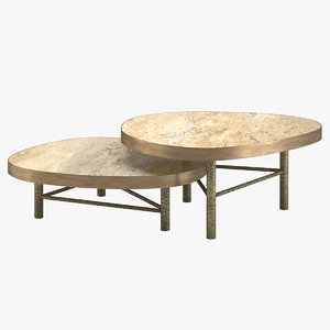 3D coffee table 14 model