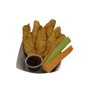 breaded deep fried chicken 3D model