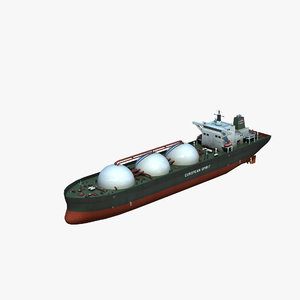 3D liquefied tanker