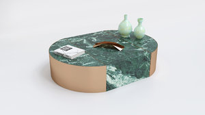 fendi casa coffee table 3D model