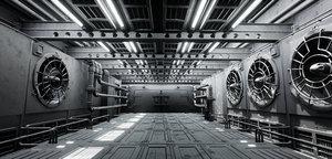3D industrial showroom