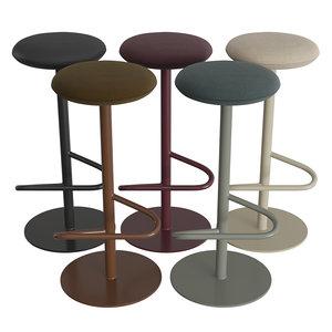odette stools 3D model