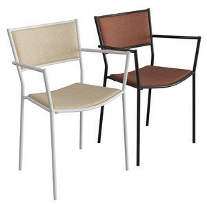 3D model jig armchair