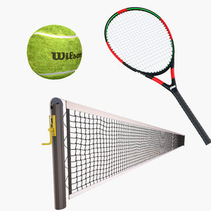 3D tennis 3 racket