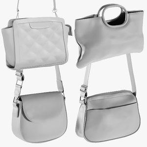 3D model mesh bags 11 -