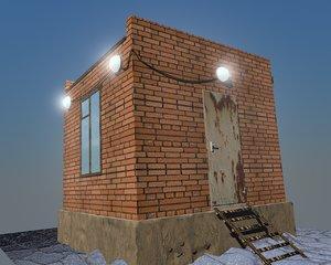 3D industrial bulding - cabin